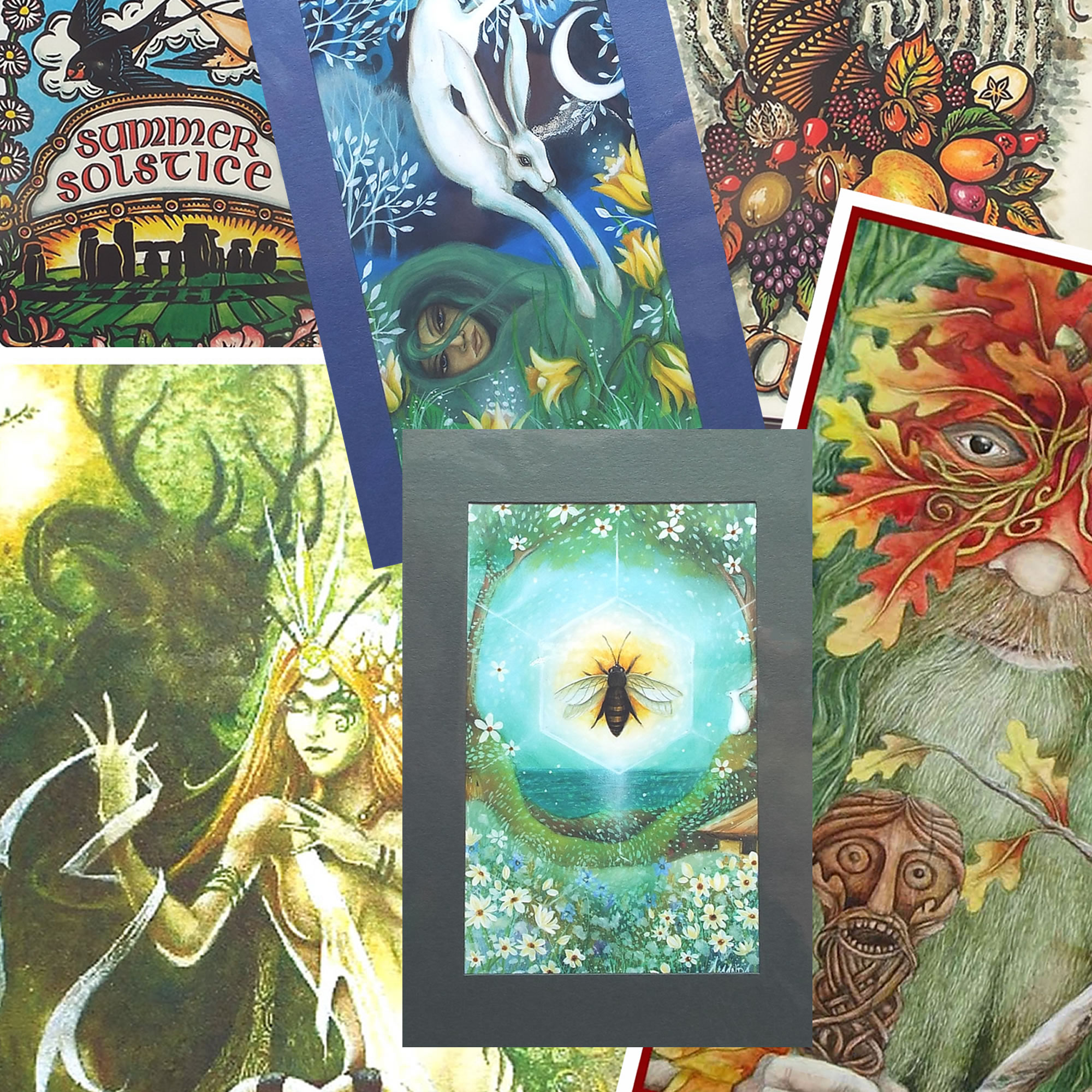 Pagan Wiccan And New Age Greetings Cards At Otherwise Trading