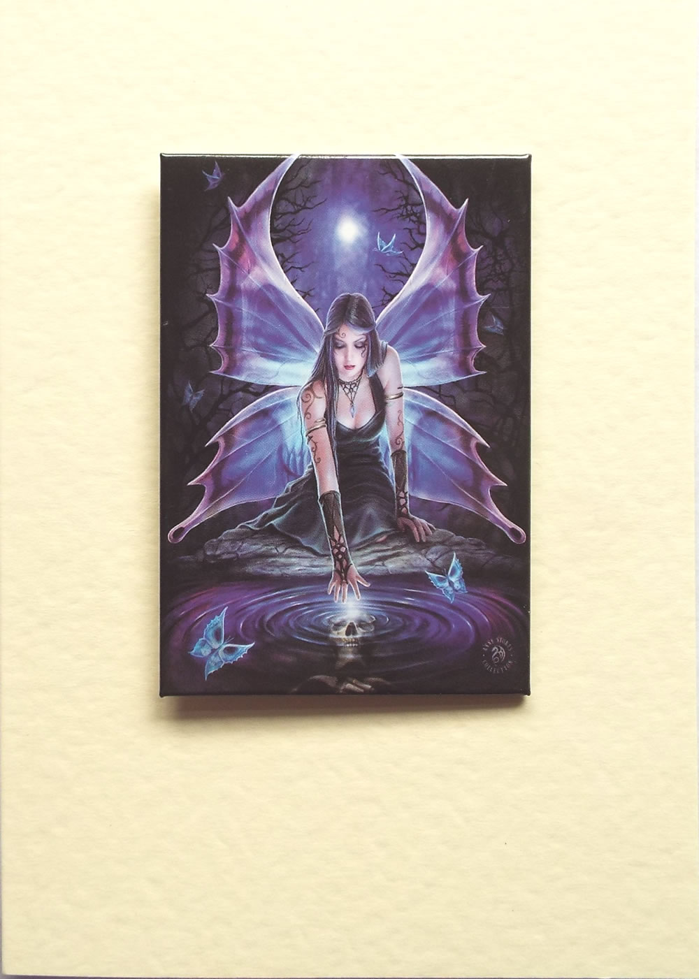 Immortal flight greetings card by anne stokes with detachable magnet crystal fairy greetings card by anne stokes with detachable magnet m4hsunfo