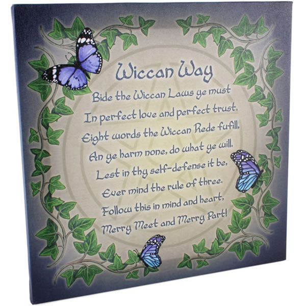 Lisa Parker Wiccan Rede Wall Art Canvas